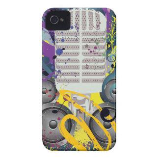 Coques iPhone 4 Haut-parleur grunge et Microphone3