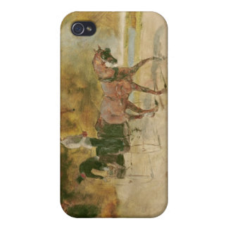 Coques iPhone 4 Henri De Toulouse-Lautrec | un dog-cart