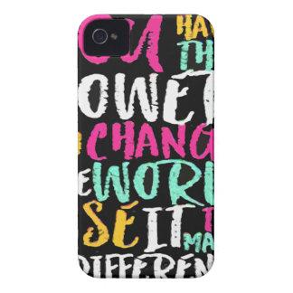 Coques iPhone 4 La meilleure citation inspirée