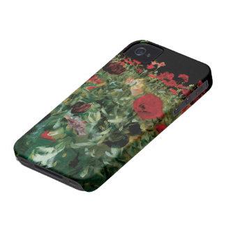 Coques iPhone 4 Le cru fleurit l'art floral, pavots par Sargent