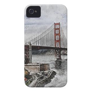 Coques iPhone 4 L'eau de golden gate bridge de Golden Gate de San