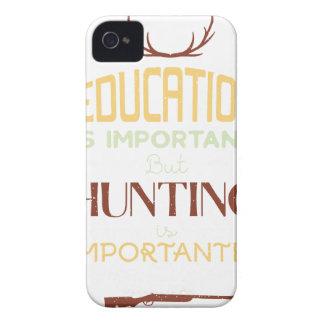 Coques iPhone 4 L'éducation est chasseur drôle important