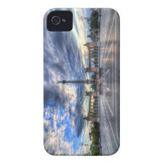 Coques iPhone 4 Les héros ajustent le lever de soleil de Budapest