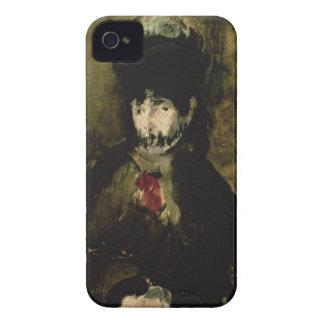 Coques iPhone 4 Manet   Berthe Morisot portant un voile, 1872