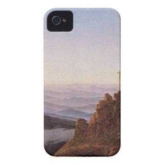 Coques iPhone 4 Matin dans Riesengebirge - Caspar David Friedrich