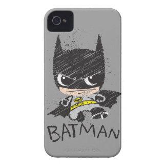 Coques iPhone 4 Mini croquis classique de Batman