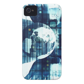 Coques iPhone 4 Monde de Digitals et industrie de mode de vie de