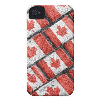 Coques iPhone 4 Motif canadien de motif de drapeau