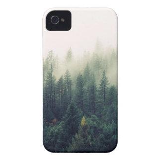 Coques iPhone 4 Nature brumeuse de forêt