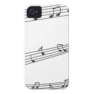 Coques iPhone 4 Notes musicales