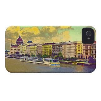Coques iPhone 4 Peinture hongroise du Parlement