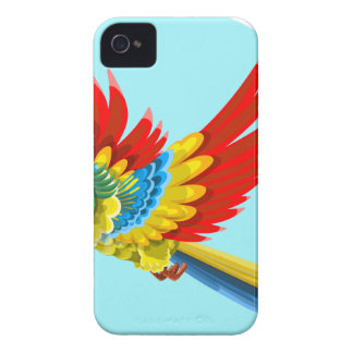 Coques iPhone 4 perroquet