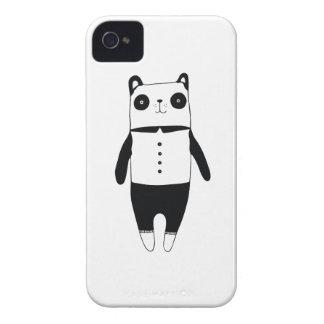 Coques iPhone 4 Petit panda noir et blanc