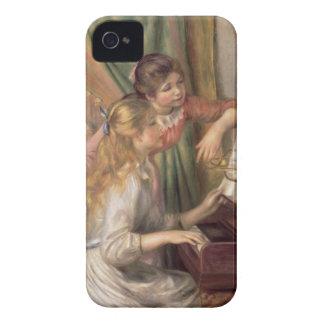 Coques iPhone 4 Pierre jeunes filles de Renoir un | au piano