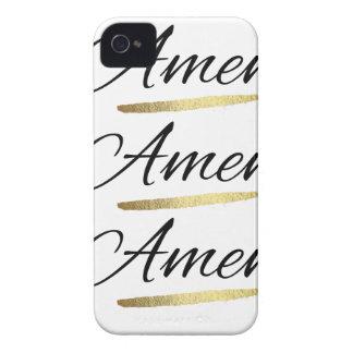 """Coques iPhone 4 Quelqu'un disent, """"amen ! """""""