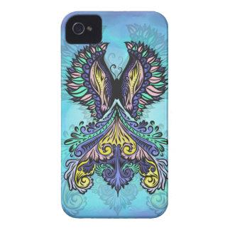 Coques iPhone 4 René - foncé, de Bohème, spiritualité