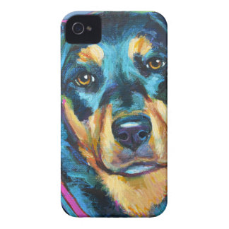 Coques iPhone 4 ROTTWEILER adorable