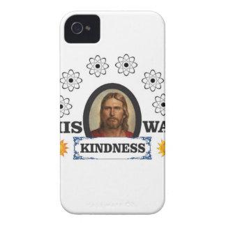 Coques iPhone 4 Sa manière est gentillesse
