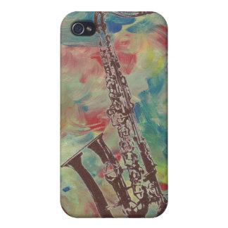 Coques iPhone 4 saxophone de jazz