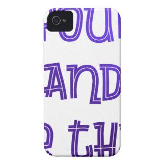 Coques iPhone 4 Trouvez-vous et soyez cela