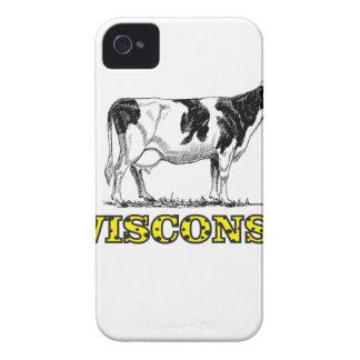 Coques iPhone 4 Vache laitière du Wisconsin
