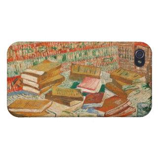Coques iPhone 4 Vincent van Gogh   les livres jaunes, 1887