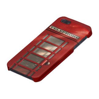 Coques iPhone 5 Cabine téléphonique rouge britannique vintage