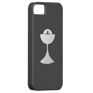 Coques iPhone 5 Calice et centre serveur argentés