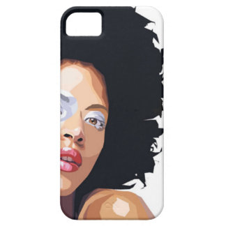 Coques iPhone 5 cas Afro-central de l'iPhone 5