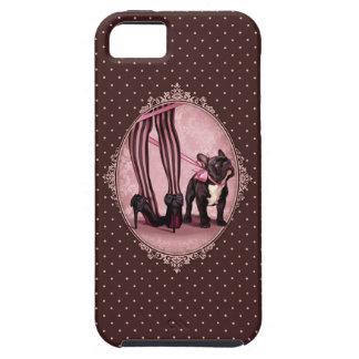 Coques iPhone 5 Case-Mate Attachée à mon Bouledogue Français