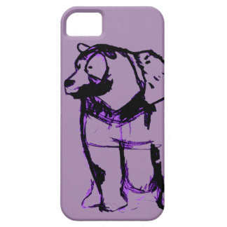 Coques iPhone 5 Case-Mate Big Bear en raisin