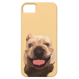 Coques iPhone 5 Case-Mate Bouledogue heureux