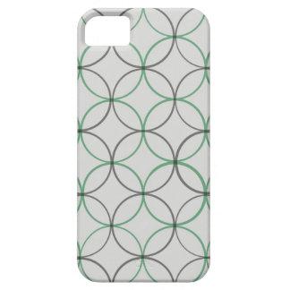 Coques iPhone 5 Case-Mate Caisse lisse grise de l'iPhone 5 de double anneau