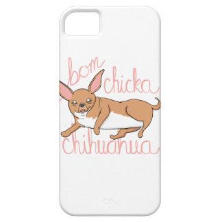 Coques iPhone 5 Case-Mate Calembour drôle de chien de chiwawa de Bom Chicka