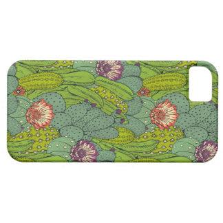 Coques iPhone 5 Case-Mate Cas de l'iPhone 5 de motif de fleur de cactus