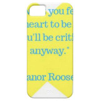 Coques iPhone 5 Case-Mate Citation d'Eleanor Roosevelt