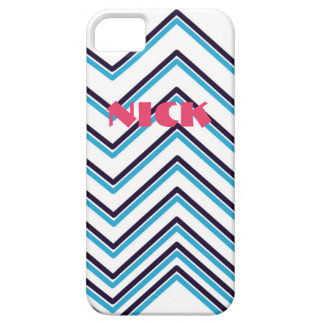 "Coques iPhone 5 Case-Mate Conception contemporaine ""de rayures en zig-zag"""