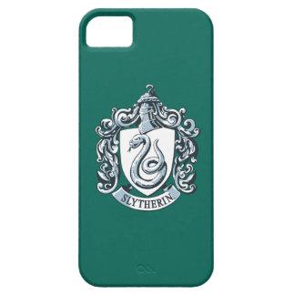 Coques iPhone 5 Case-Mate Crête de Harry Potter | Slytherin - bleu glacier