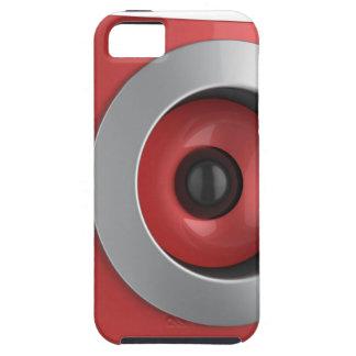 Coques iPhone 5 Case-Mate Haut-parleur rouge