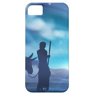 Coques iPhone 5 Case-Mate Illustration de Noël de nativité de Mary et de