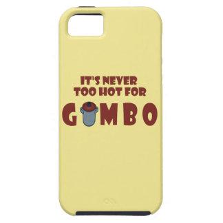 Coques iPhone 5 Case-Mate Jamais trop chaud pour le cas drôle de téléphone