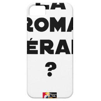 Coques iPhone 5 Case-Mate LA ROMA THÉRAPIE ? - Jeux de mots - Francois Ville