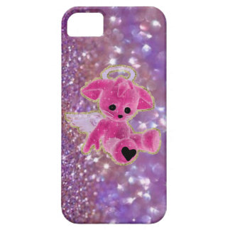Coques iPhone 5 Case-Mate Mon ange… Caisse pourpre de l'iPhone 5 de parties