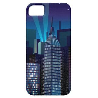 Coques iPhone 5 Case-Mate NightCityScape_VectorDTL