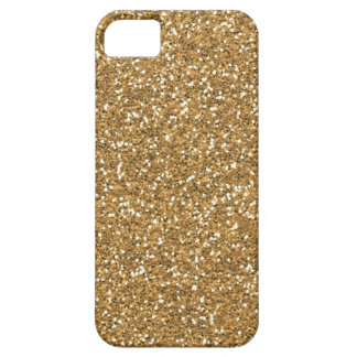 Coques iPhone 5 Case-Mate Parties scintillantes fascinantes de Faux d'or