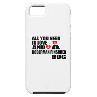 Coques iPhone 5 Case-Mate Tous vous avez besoin des conceptions de chiens de
