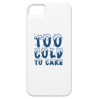 Coques iPhone 5 Case-Mate Trop froid au soin