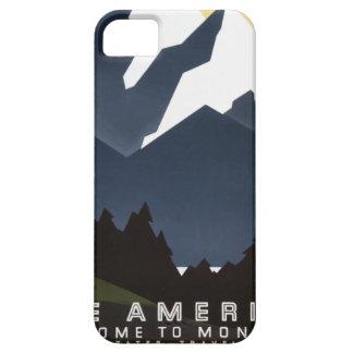 Coques iPhone 5 Case-Mate Voyage vintage Montana Amérique Etats-Unis