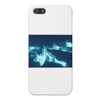 Coques iPhone 5 Flamme bleue