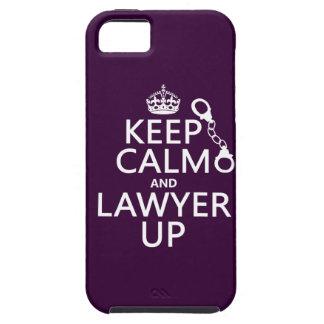 Coques iPhone 5 Gardez le calme et l'avocat (toute couleur)